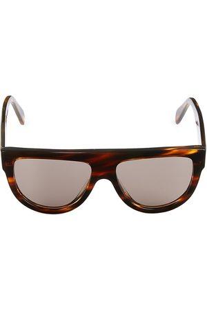 Céline Men's 58MM Flat Top Pilot Sunglasses