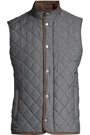 Peter Millar Men's Essex Quilted Vest - - Size XXL