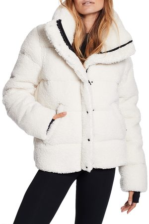 SAM. Women's Isabel Sherpa Puffer Down Jacket - - Size XL