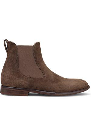 Loro Piana Men's Beatle City Walk Suede Chelsea Boots - - Size 45 (12)