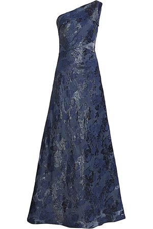Rene Ruiz Collection Women's One-Shoulder Draped Gown - - Size 14