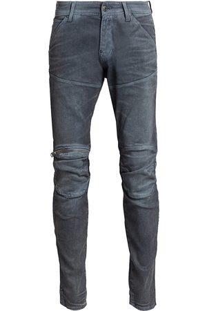 G-Star Men's 5620 3D Slim-Fit Zip Knee Jeans - - Size 31 x 32