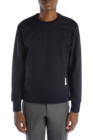 Thom Browne Men's Crewneck Cotton Sweatshirt - - Size 1 (Small)