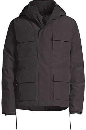 Canada Goose Men's Maitland Hooded Parka Label - - Size XS
