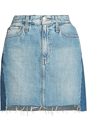 AG Jeans Women's Vera Two-Tone Mini Skirt - - Size 32 (12)