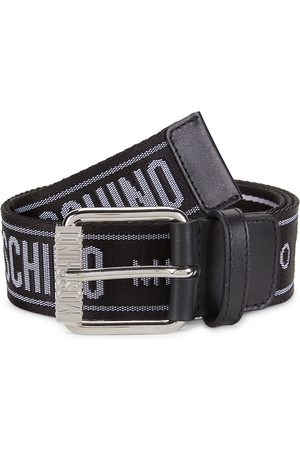 Moschino Men's Fabric Strap Belt - - Size 58 (42)