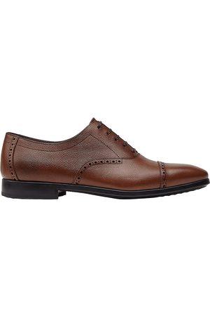 Salvatore Ferragamo Men's Riley Leather Oxford Shoes - - Size 7.5 E