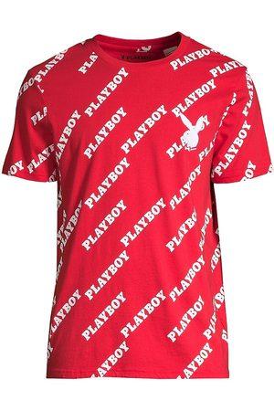 Eleven Paris Men's Playboy Logo T-Shirt - - Size Large