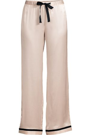 Morgan Lane Women's Chantal Silk Pants - - Size Medium
