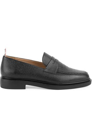 Thom Browne Men's Leather Penny Loafers - - Size 9