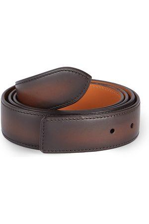CORTHAY Men's Leather Strap - - Size Medium (100)