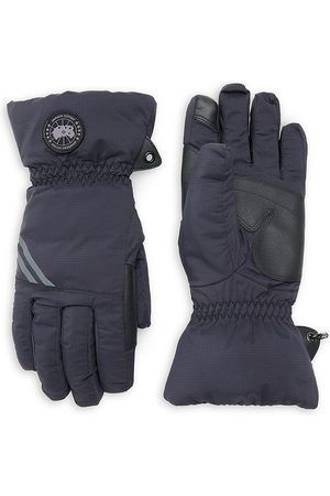 Canada Goose Men's Hybridge Touch-Screen Down-Fill Gloves - - Size Large