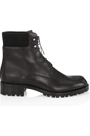 Christian Louboutin Trapman Leather Hiking Boots