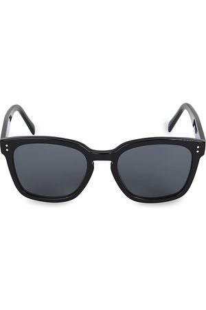 Céline Men's 55MM Plastic Round Sunglasses