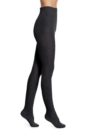 Natori Women's Regent Wool-Blend Sweater Tights - - Size Small-Medium
