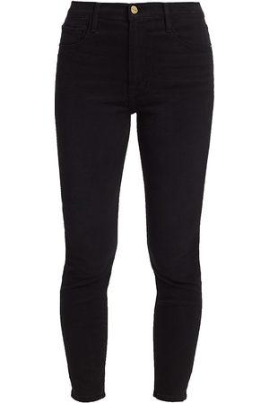 Frame Women's Ali High-Rise Cigarette Skinny Jeans - - Size 32 (10-12)