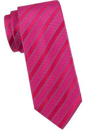 Charvet Men's Stripe Silk Tie