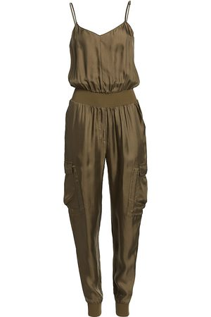 Cinq A Sept Women Jumpsuits - Women's Twill Amia Jumpsuit - - Size XL