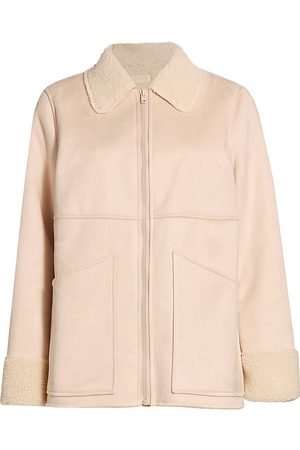Mother Women's The Timber Faux Fur Jacket - - Size XS