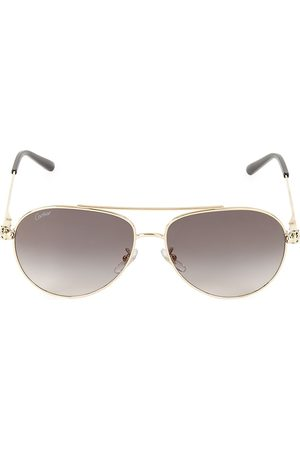Cartier Men's 61MM Aviator Sunglasses
