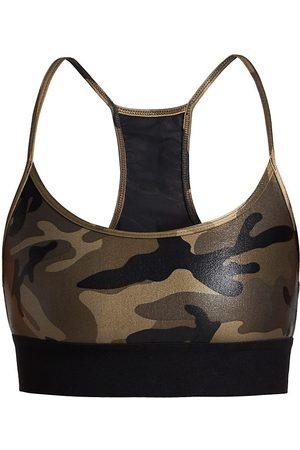 Koral Women's Sweeper Camouflage Sports Bra - - Size XS