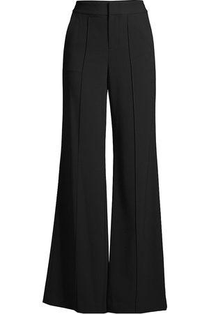 ALICE+OLIVIA Women's Dylan High-Waist Wide-Leg Pants - - Size 12