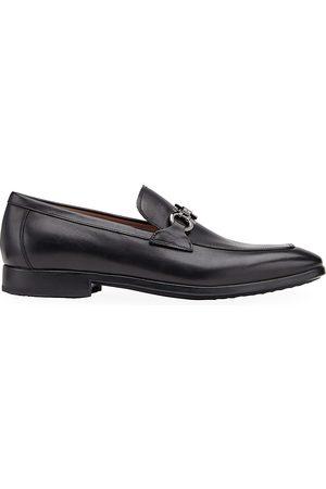 Salvatore Ferragamo Men's Ree Condor Leather Loafers - - Size 13 E