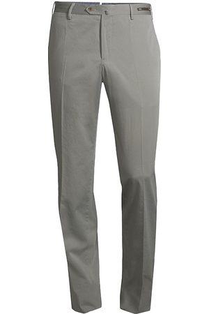PT01 Men's Slim-Fit Silk-Blend SilkOchino Trousers - - Size 56 (40)