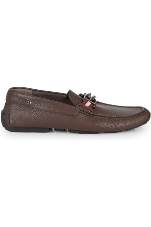 Bally Men's BB Horsebit Leather Driver Loafers - - Size 11.5