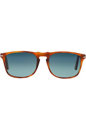 Persol Men's 55MM Round Sunglasses