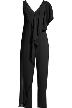 Trina Turk Women's April Drape Jumpsuit - - Size 16