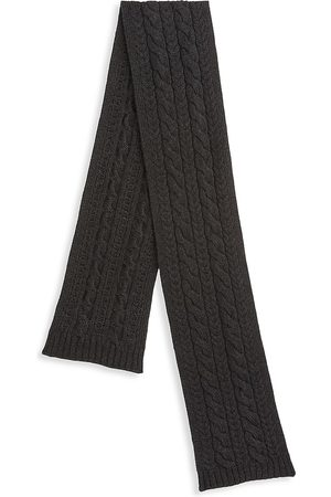 Ralph Lauren Men's Cable Knit Cashmere Scarf