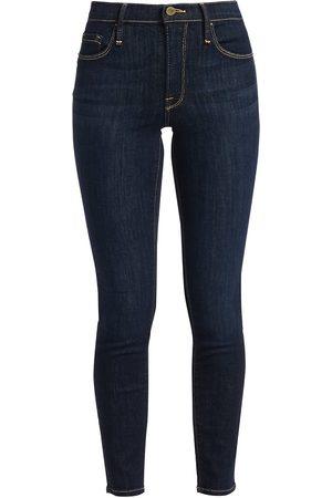 Frame Women's Le Skinny de Jeanne Mid-Rise Jeans - - Size 32 (10-12)