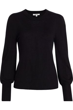 Splendid Women's Whitney Blouson-Sleeve Sweater - - Size XS