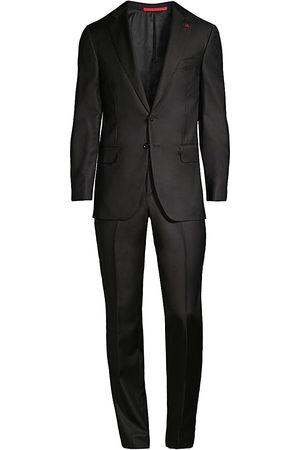 ISAIA Men's New Sanita Basic Wool Suit - - Size 54 (44) S