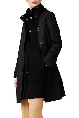 Jane Post Women Coats - Women's Two-Piece Wool Double Coat - - Size Large