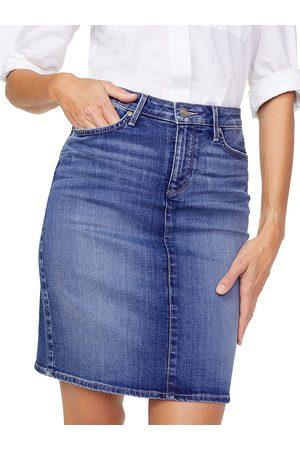 NYDJ Women's Five-Pocket Denim Skirt - - Size 18