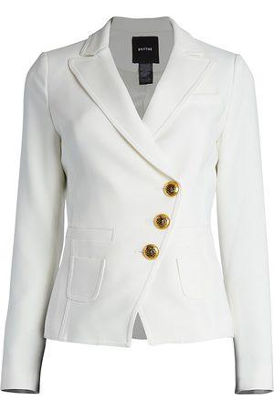 SMYTHE Women's Asymmetrical Wrap Blazer - - Size 10
