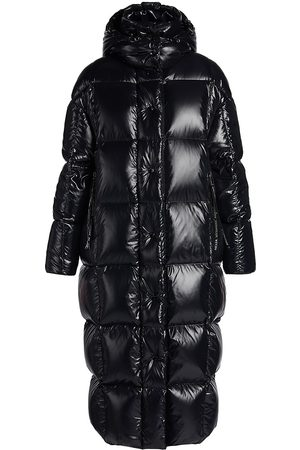 Moncler Women's Parnaiba Quilted Down Long Coat - - Size 3 (Large)