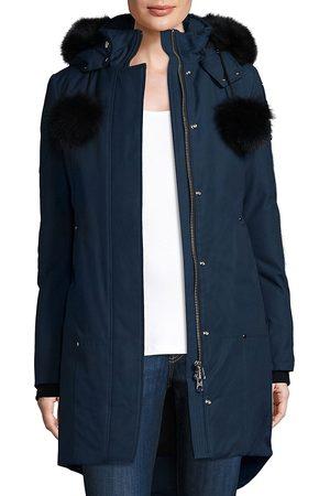 Moose Knuckles Women Parkas - Women's Stirling Fox Fur Parka - Jasper - Size XS