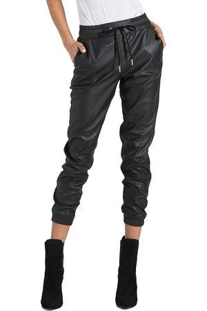 N:philanthropy Women's Scarlett Leather Joggers - - Size Medium