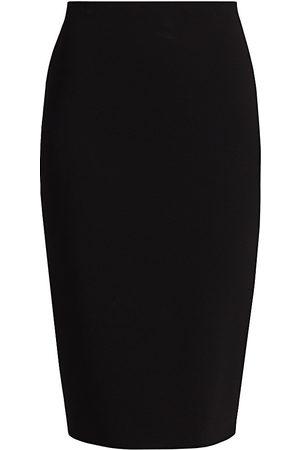 Victoria Beckham Women's Crepe Pencil Skirt - - Size UK 10 (6)