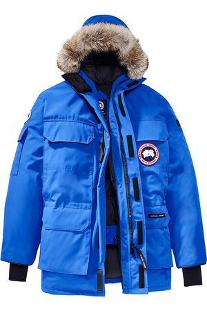 Canada Goose Men's PBI Expedition Coyote Fur-Trim Down Parka - - Size Large
