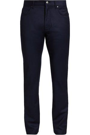 Ermenegildo Zegna Men's Flanell Wool Slim Pants - - Size 42