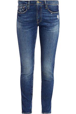 Frame Women's Le Garçon Mid-Rise Skinny Jeans - - Size 31 (10)
