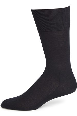 Falke Men's No. 6 Finest Merino & Silk Socks - - Size 47-48 (12.5-13.5)