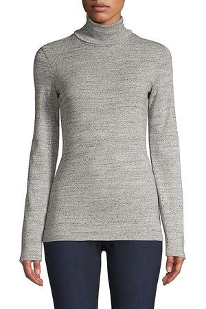 Splendid Women's Classic Heathered Turtleneck - - Size XL