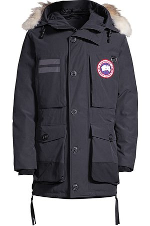Canada Goose Men Parkas - Men's Maccullouch Coyote Fur-Trim Down Parka - - Size Medium