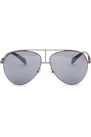 Balmain Men's Metal Aviator Sunglasses