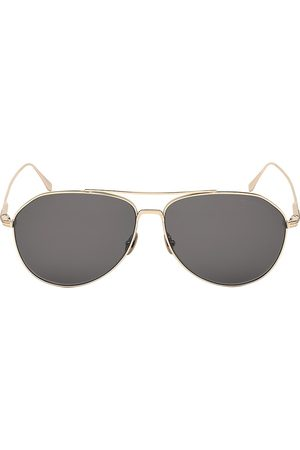 Tom Ford Men's Cyrus 62MM Aviator Sunglasses